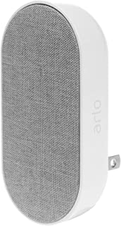 Arlo Technologies Smart Chime - Wire-Free, Smart Home Security, Siren and Silent Mode (AC1001-100AUS), White