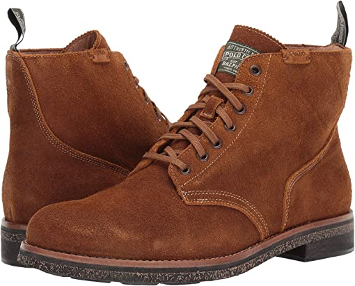 Snuff Roughout Suede