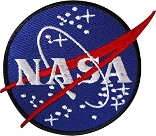 NASA Iron On Patch/Sew On Badge for Astronaut Space Fancy