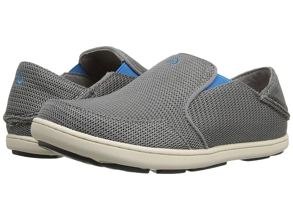 OluKai Kids Nohea Mesh (Toddler/Little Kid/Big Kid) (Grey/Scuba) Boys Shoes