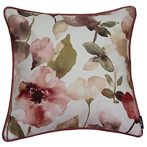 Pink Floral Scatter Cushions Amazon Co Uk