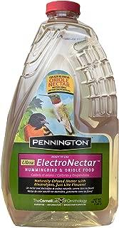 Pennington 100510152 ElectroNectar Ready to Use Hummingbird Nectar, 64 oz, Clear