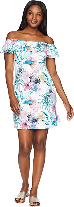 Fronds Ferdi Ruffle Spa Dress Cover-Up