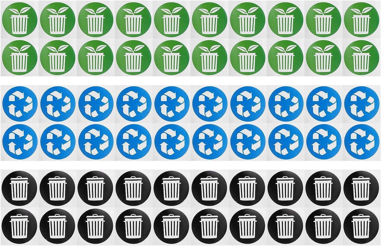 Jinyi Trash Sticker Circular Collection Decal Long Beach Mall Cheap SALE Start Garbage fo