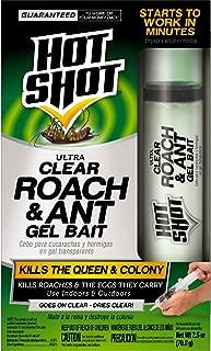 Hot Shot HG-95769 Ultra Clear Roach & Ant Gel Bait, 2.5-Ounce