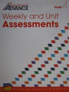Benchmark Advance Grade 4 Weekly and Unit Assessments