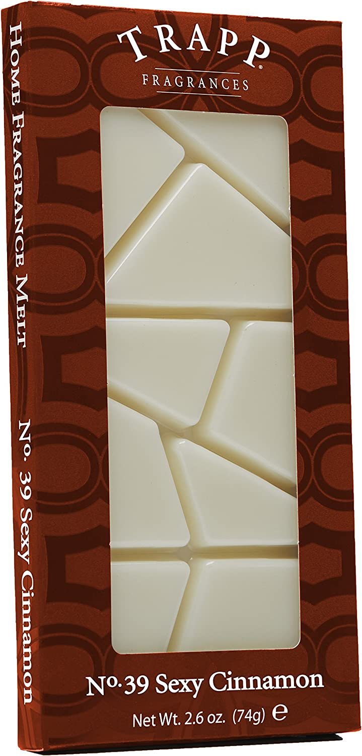 Trapp Candles Home Fragrance Melt 2.6-Oun No. Sexy High quality new Price reduction Cinnamon 39