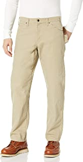 dickies mensDU336Relaxed Straight Sanded Duck Carpenter Jean Jeans - brown - 30W x 32L