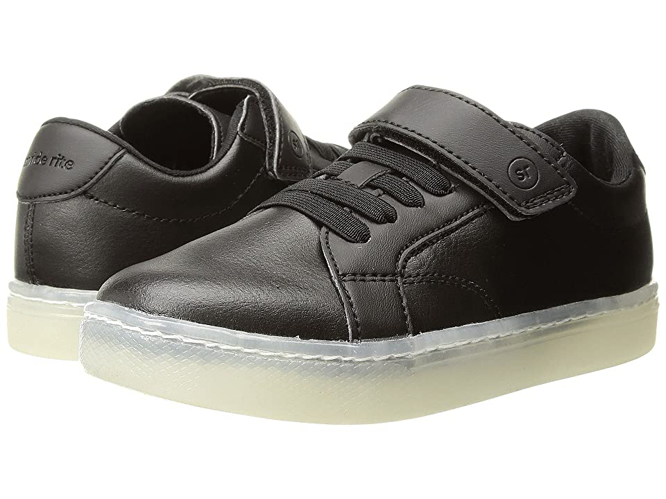 Stride Rite Lighted Ray (Toddler/Little Kid) (Black/White) Boys Shoes