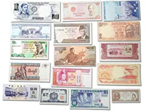 World Banknotes Collection - 16 Asian Banknotes - Foreign, Currency, Uncirculated
