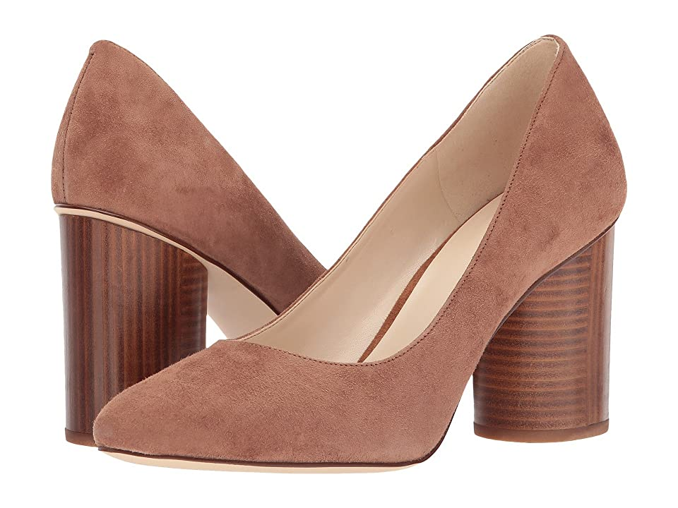 Nine West Cardya (Dark Natural Suede) High Heels
