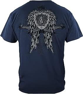 Thin Blue Line T Shirt - Law Enforcement Gear for Men - Law Enforcement - FF2119