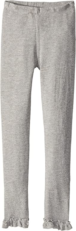 Chaser Kids - Cozy Leggings with Ankle Ruffle Detail (Big Kids)