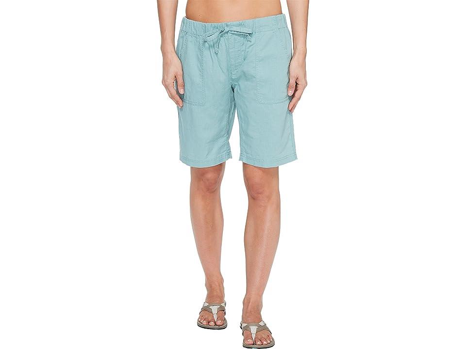 Columbia Coastal Escapetm Long Shorts (Dusty Green) Women
