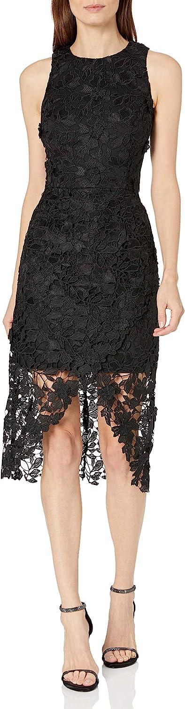 Betsy & Adam Women's Lace Cocktail Dress