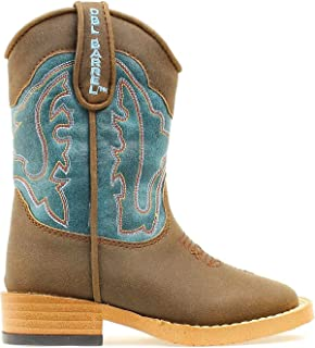 M&F Western Kids Baby Boy's Open Range (Toddler) Brown/Turquoise 5 M US Toddler