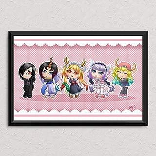 Kobayashi Dragon Maid Dance - Original Art Poster Print