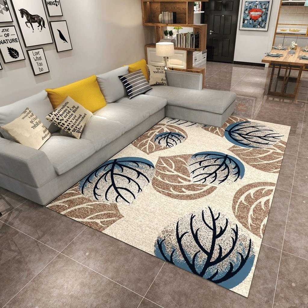 JIXWU Rectangular Carpet Living Super sale period limited Room W Thick Clearance SALE Limited time Bedroom Slip