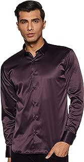 Van Heusen Men's Solid Slim Fit Casual Shirt