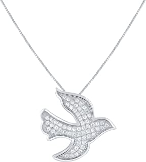 Best sterling silver dove necklace Reviews