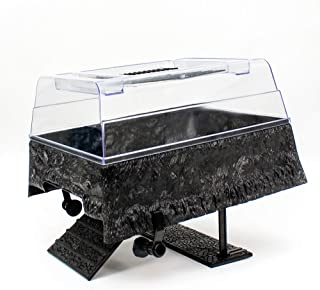 Penn Plax Turtle Tank Topper – Above-Tank Basking Platform for Turtle Aquariums, 17 x..