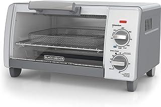 Black+Decker TO1785SG Crisp 'N Bake Air Freír horno tostador, 4-Slice, gris