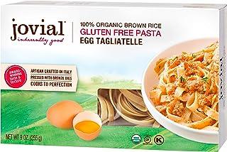 Jovial Egg Tagliatelle Gluten-Free Pasta | Whole Grain Brown Rice Egg Tagliatelle Pasta | Lower Carb | Kosher | USDA Certi...
