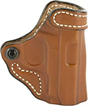 DeSantis 155TAP6Z0 Gunhide, Criss-Cross Belt Holster, Fits Sig Sauer P238, Springfield 911, Kimber Micro Carry, Colt Mustang, Right Hand, Tan Leather, N/A