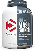 Dymatize Super Mass Gainer Protein Powder with 1310 Calories Per Serving, Gain Strength & Size Quickly, Cookies and Cream, 6 lbs