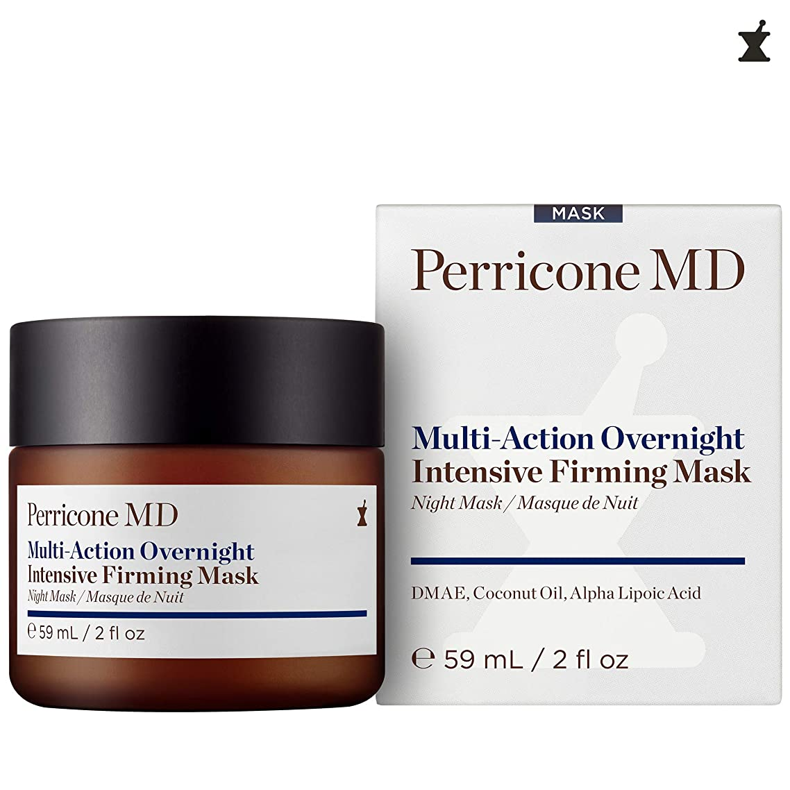 Perricone MD Multi-Action Overnight Intensive Firming Mask for Unisex, 2 Ounce