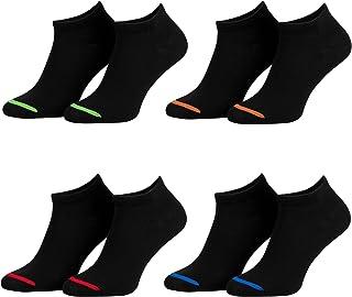 Piarini, Calcetines cortos unisex - Varios colores modernos y negro - También en tallas grandes