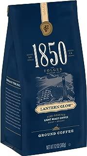 1850 Lantern Glow, Light Roast Ground Coffee, 12 Ounces (Pack of 6)