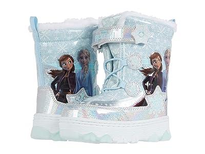 Josmo Kids Frozen Lighted Snowboot (Toddler/Little Kid) (Silver/Blue) Girl