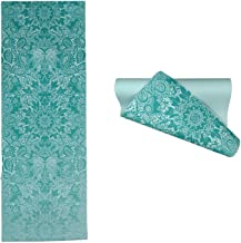 Home Runner 6MM Printed Designer Workout Yoga Mat with Cover Bag
