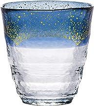 東洋佐々木ガラス 焼酎グラス 和がらす温 お湯わり焼酎ぐらす ブルー 日本製 300ml 42130TS-G-WSHB