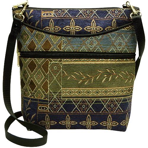 ea383847f9 Danny K Women s Tapestry Bag Crossbody Handbag