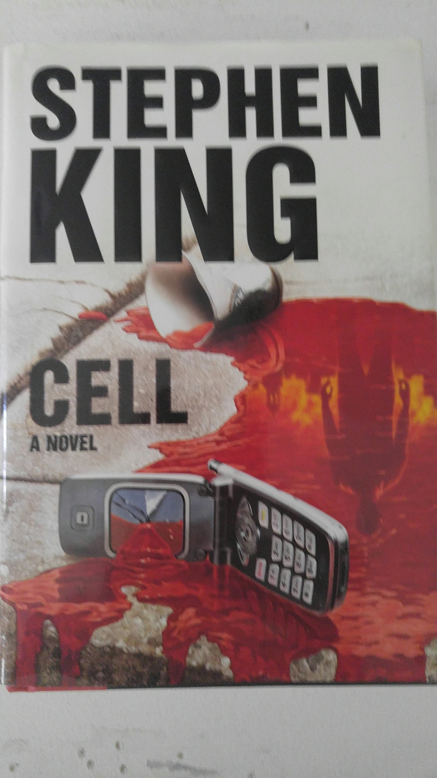CELL Stephen King 1st edition 1st print !