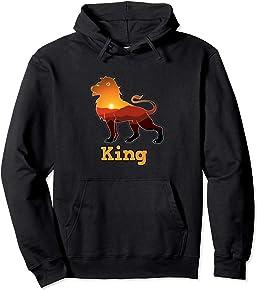 African Lion King Hoodie