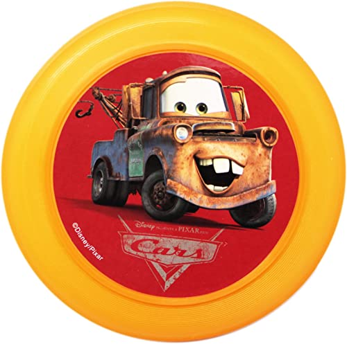 Disney Pixar 's Cars Miniatur Flying Disc  Mater (Orange)