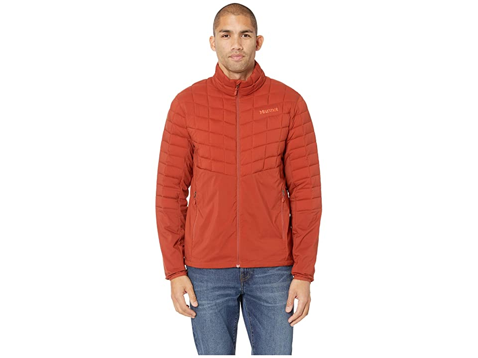 Marmot Featherless Hybrid Jacket (Dark Rust) Men