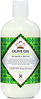 Acondicionador de aceite de oliva vegano.