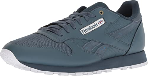 Reebok Reebok Reebok Hommes's Classic Leather Walking chaussures, Mc-Deep Sea Multi Fuji blanc, 6.5 M US 2a3