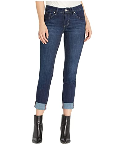 Jag Jeans Carter Girlfriend Crosshatch Denim Jeans (Night Breeze) Women