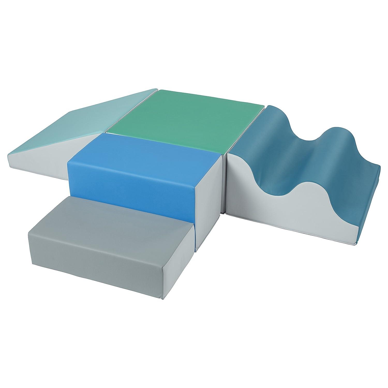 Ultra-Cheap Deals ECR4Kids SoftZone Tri-Terrain Wall Minneapolis Mall Climber Foam Structure Play