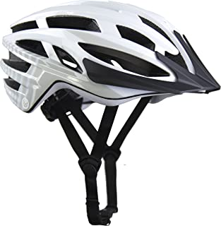 Demon Blaze Bike Helmet, CPSC Certified, 11.5 OZ Weightless Edition, 25 High Flow Air Vents, Removable Visor, Washable Fit Pads, Patented Fidlock Self Closing Buckle