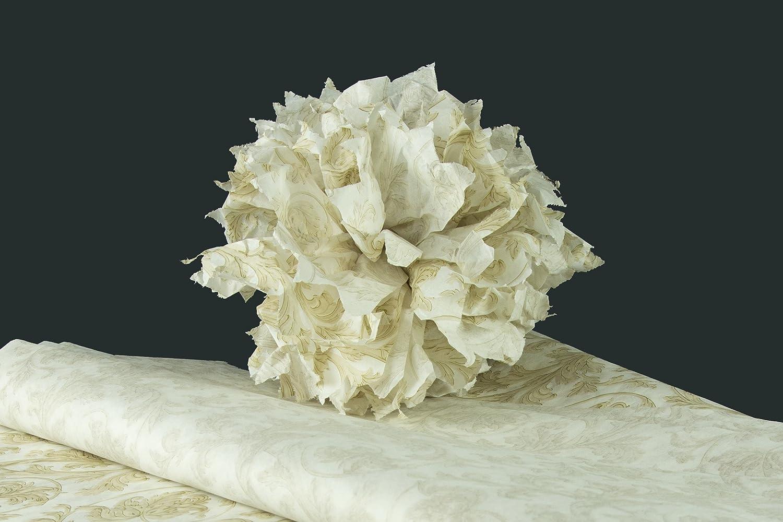 Kit für Wachskugeln 30 Pompons von 38 cm, entweder 240 Blatt-Papier so Precious Metal Elegance B077NDZSWJ | Charmantes Design