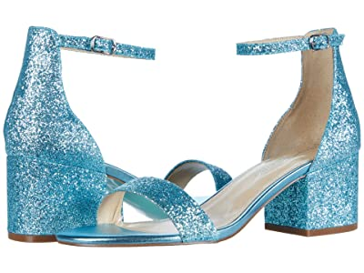 Blue by Betsey Johnson Mari Heeled Sandal (Blue) Women