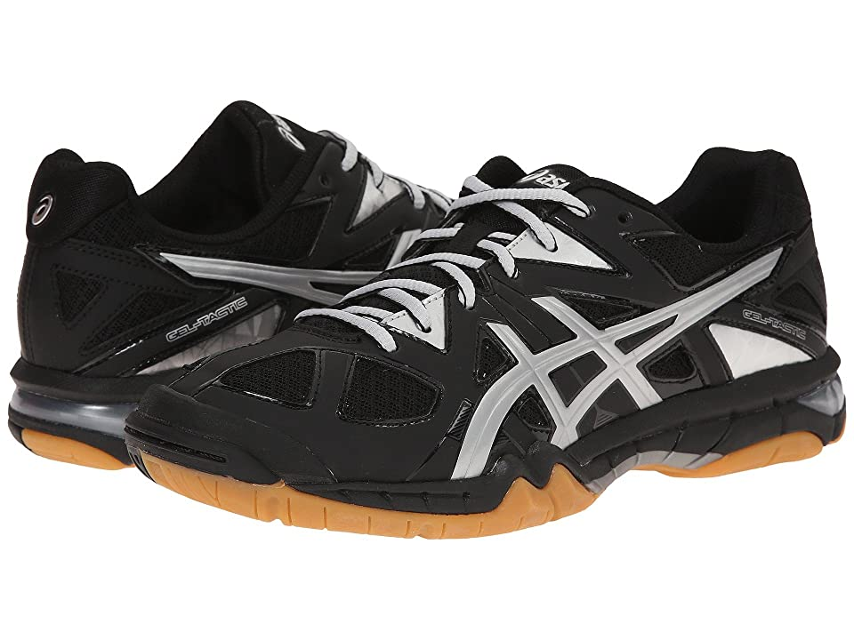 ASICS GEL-Tactictm (Black/Silver) Women