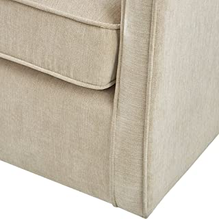 Madison Park Harris Swivel Chair Cream See Below