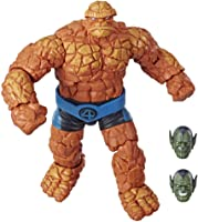Marvel Legends Series Fantastic Four 6-inch Collectible Action Figure Marvel's Thing Toy, Premium Design, 1 Accessory 2...